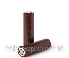 Аккумулятор LG INR18650HG2 3000 mAh (до 30А) оригинал (для электронных сигарет), фото 3