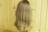 №1 Женский парик из натуральных славянских волос, русый. Имитация кожи головы.