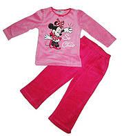 Пижама велюровая для девочки Минни Маус