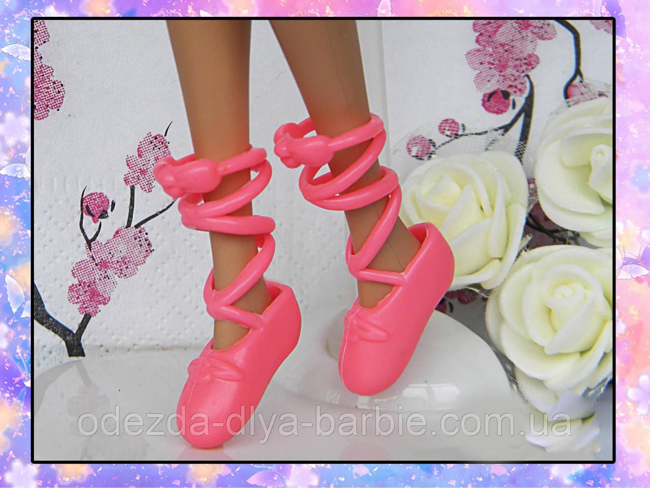 Обувь для Барби - балетки (пуанты)