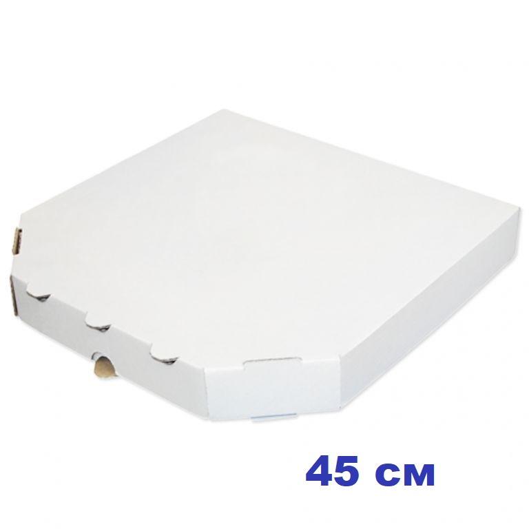 Коробка для пиццы, 40 см белая, 400*400*40, мм