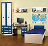 Кровать Твинс нижняя №1 650х1935х860мм  Сокме  , фото 2