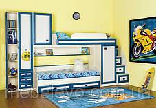 Кровать Твинс нижняя №1 650х1935х860мм  Сокме  , фото 3