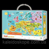 Пазл Dodo карта Европы английская версия