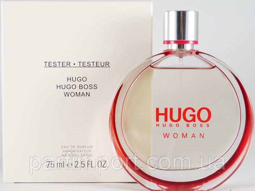 HUGO WOMAN EDP 75 ml  парфюмированная вода женская (оригинал подлинник  Великобритания)