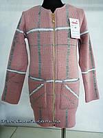 Кофта вязаная для девочки-подростка 134-146, фото 1