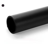 Черный матовый ПВХ (виниловый) фон Puluz для предметной фото и видео съемки 200 х 120 см.