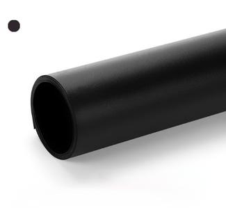 Чорний матовий ПВХ (вініловий) фон Puluz для предметної фото та відео зйомки 200 х 120 див.
