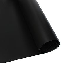 Чорний матовий ПВХ (вініловий) фон Puluz для предметної фото та відео зйомки 200 х 120 див., фото 3