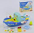 """Игровой набор 2 в 1 """"Кухня-Рыбалка"""" 889-95, свет, звук, на батарейках, 27 предметов, фото 2"""