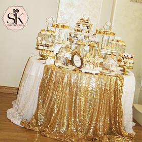 Свадебный Кенди Бар - золото