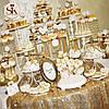 Свадебный Кенди Бар - золото, фото 2