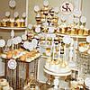 Свадебный Кенди Бар - золото, фото 3