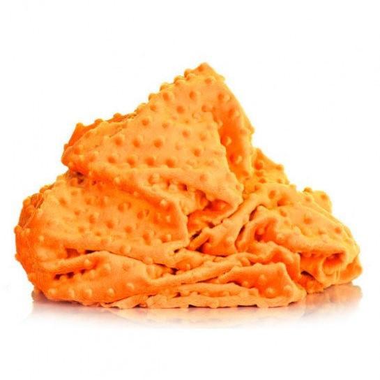 плюш минки точка оранжевый