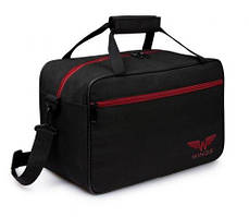 Дорожная сумка WINGS TB01 40x25x20 см ручная кладь RYANAIR и WIZZAR, черная