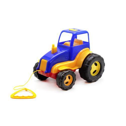 Трактор пластиковый (синий) 5012