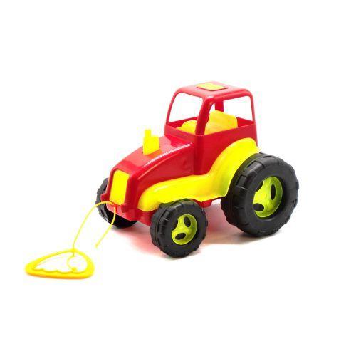 Трактор пластиковый (красный) 5012