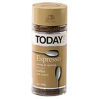 Кофе Today Espresso (95 г) растворимый кофе