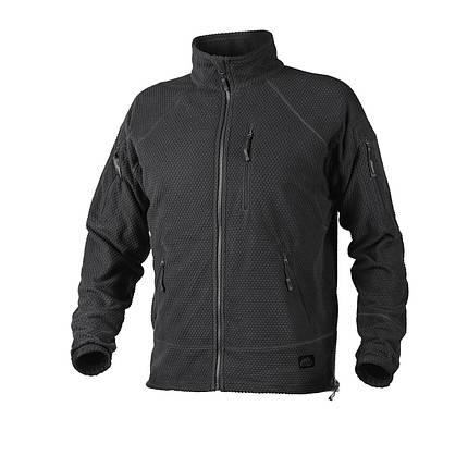 Фліс Helikon-Tex  ALPHA Tactical Jacket. BLACK, L, фото 2