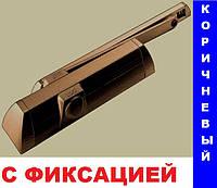 Доводчик Dorma TS 90 Impulse со скользящей тягой с фиксацией (коричневый)*, фото 1