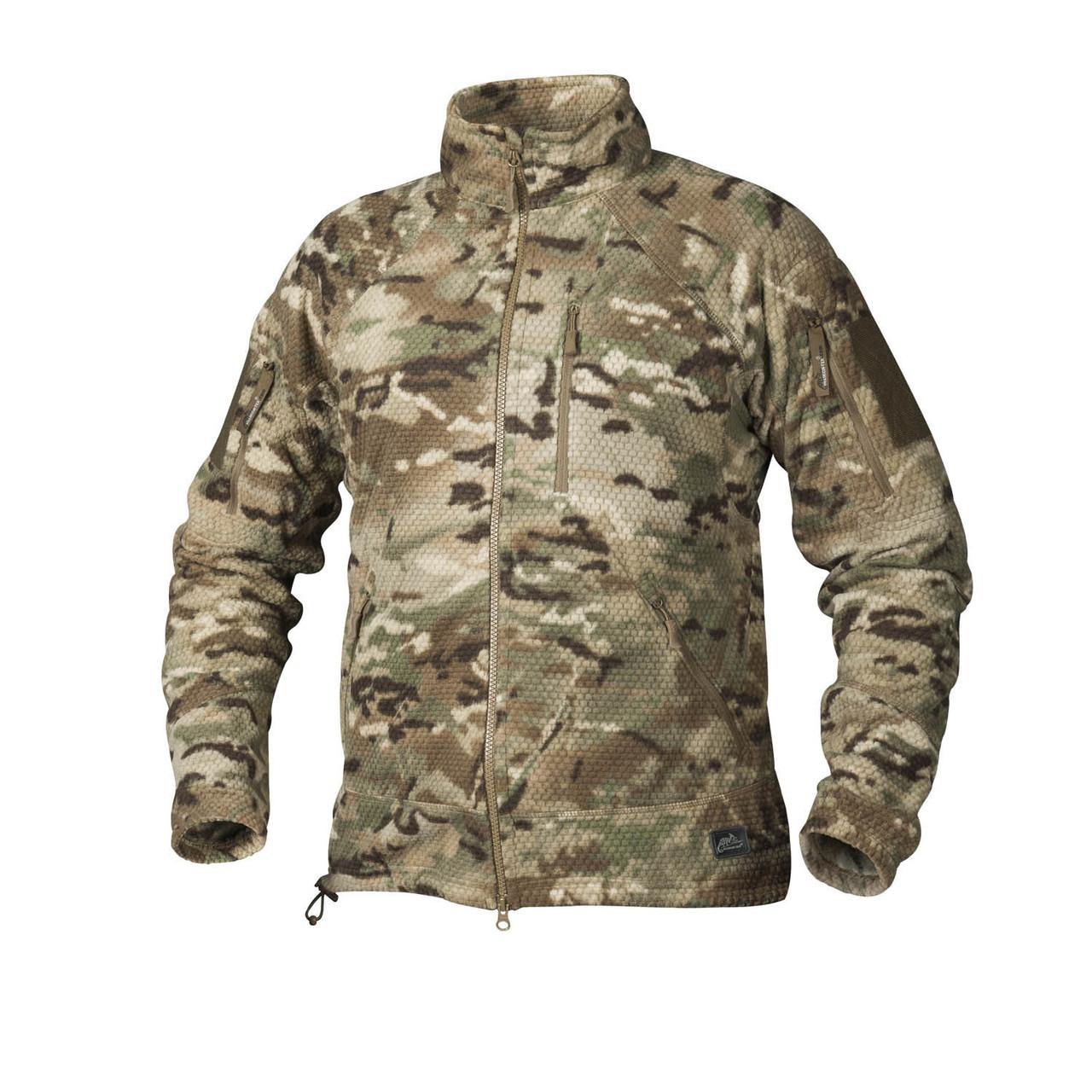 Фліс Helikon-Tex  ALPHA Tactical Jacket. CAMOGROM-R-, S