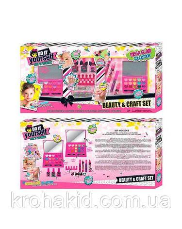 Большой набор детской косметики J-125 набор для маникюра, пилочка, лак, тени, помада - Детская косметика, фото 2