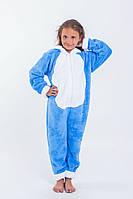 Теплая детская пижама-комбинезон, фото 1