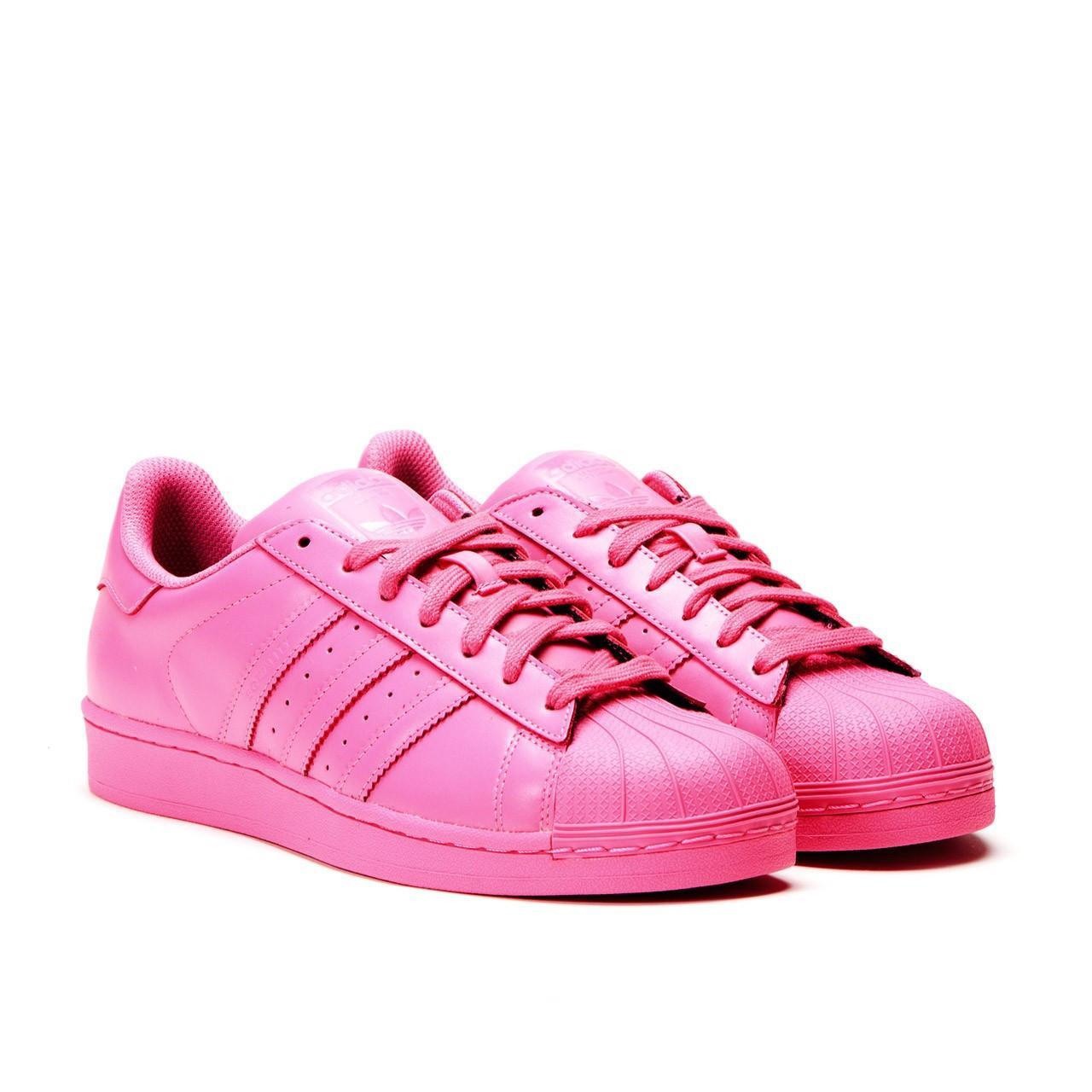 68417cb4aeab Женские яркие кроссовки Adidas Superstar Supercolor розовые - Интернет  магазин обуви Shoes-Mania в Днепре