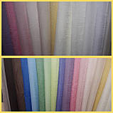 Тюль вуаль жатка, цвет василек, фото 2