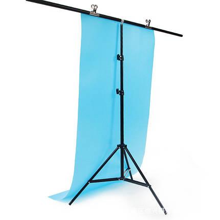 Система, стойка для крепления фона Т-образная 200см.х150см., фото 2
