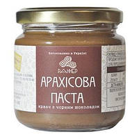 "Арахисовая паста кранч с черным шоколадом ""Раннер"" без сахара, 300 г"