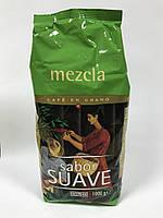 Кава натуральна в зернах Hacendado Mezcla Sabor Suave100% арабіка комбінована обжарка