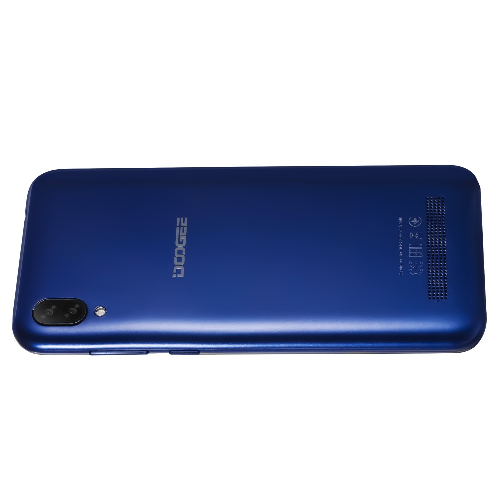 Безрамочный Doogee Y8C Blue