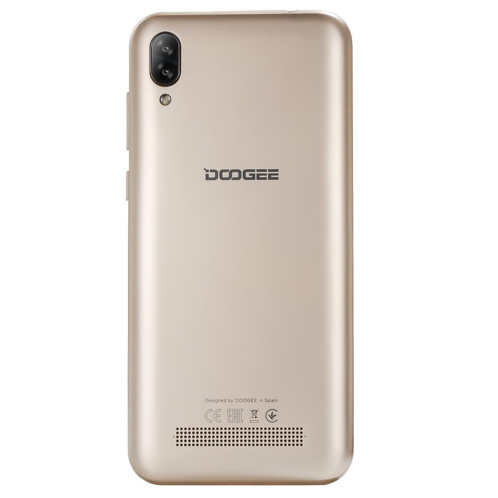 Безрамочный Doogee Y8C Gold