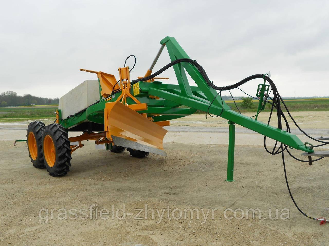 Грейдер Perrein TP 3600 3,6 метра 3800 кг. 4 колеса