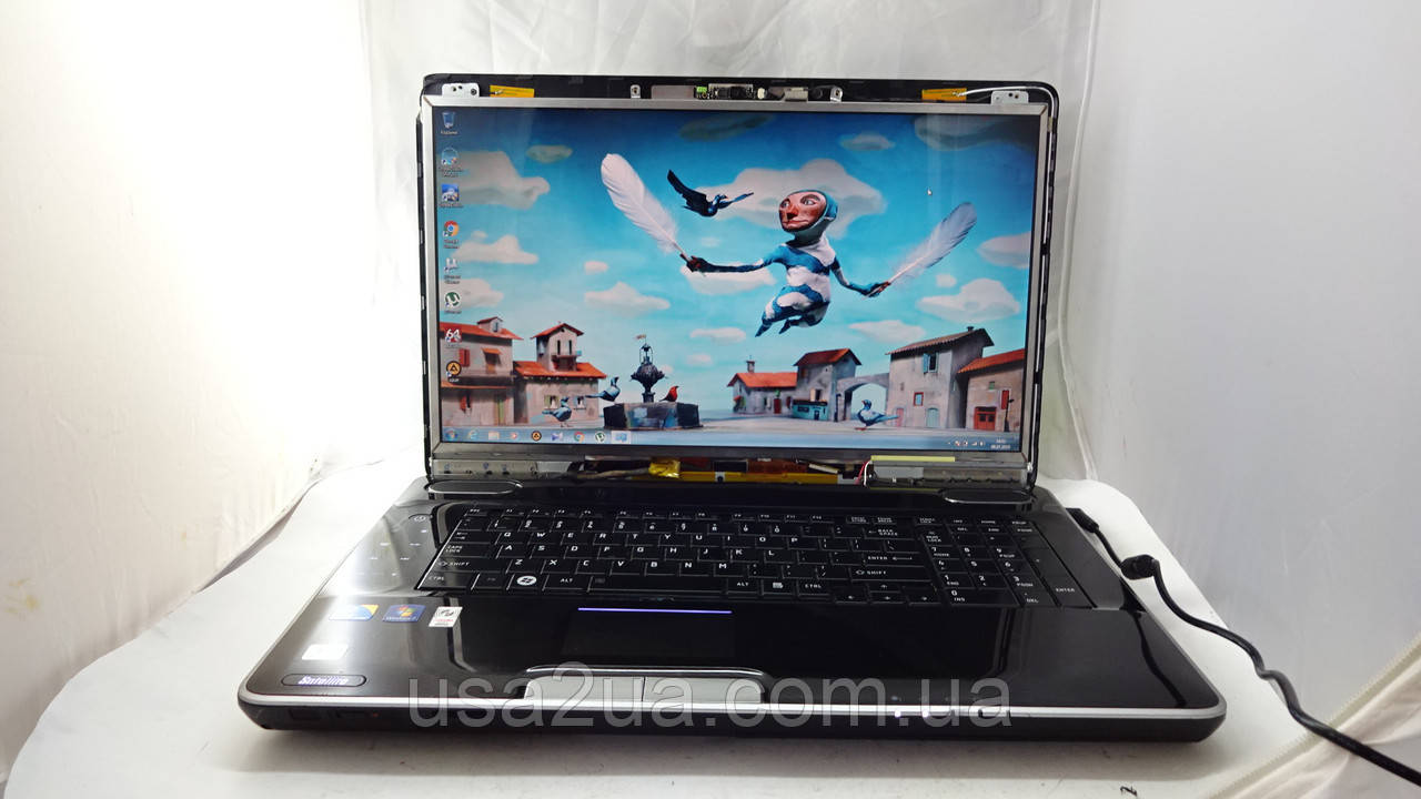 "Большой 19"" Ноутбук Toshiba Satellite P500 Core I3/320Gb/3Gb/WEB УЦЕНКА! Кредит Гарантия Доставка"