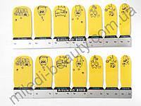 Лаковая пленка для дизайна ногтей B1018