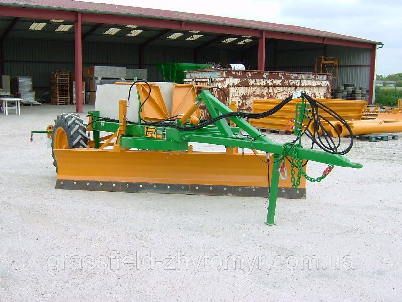 Грейдер Perrein NP 3600 3,6 метра 4300 кг. 2 колеса