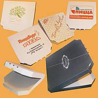 Коробка для пиццы диаметром 32 см, фото 1