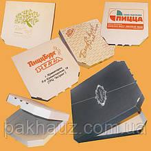 Коробка для пиццы диаметром 32 см