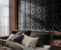 Панель,мягкая плитка,мягкие панели,мягкие стенновые панели, 40х40 см. Любой цвет на выбор экокожа или вилюр, фото 7