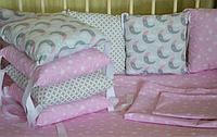 Детское постельное белье месяц