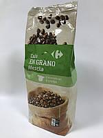 Кава натуральна в зернах 100% арабіка Carrefour Natural Іспанія 1000 гр
