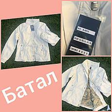 Куртка женская из экокожи большого размераOS, фото 2