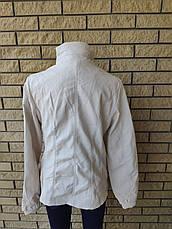 Куртка женская из экокожи большого размераOS, фото 3