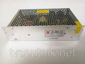 Импульсный блок питания А-200-12 (12В/16А)