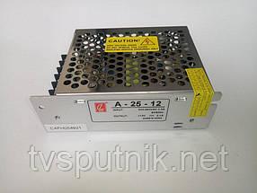 Импульсный Перфорированный блок питания А-25-12 (12В 2А)