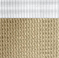 Рулонные шторы День-Ночь Ткань Рио Z-068 Бежевый