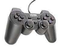 USB джойстик для ПК PC GamePad DualShock вибро 894