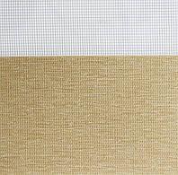 Рулонные шторы День-Ночь Ткань Рио Z-069 Лён